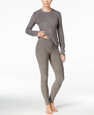 Cuddl Duds Long Sleeve Fleecewear Top & Fleecewear Leggings