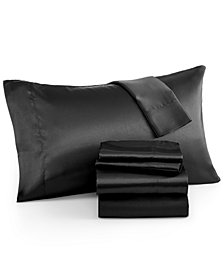 Madison Park Essentials Satin 6-Pc. King Sheet Set