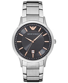 Men's Stainless Steel Bracelet Watch 43mm AR2514
