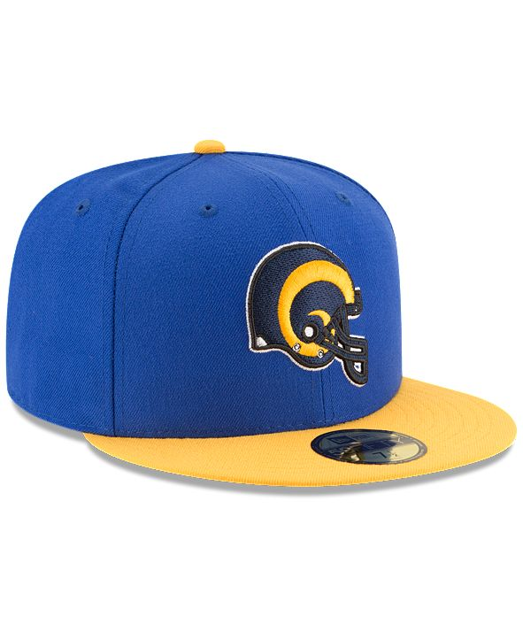 New Era Los Angeles Rams Team Basic 59FIFTY Fitted Cap