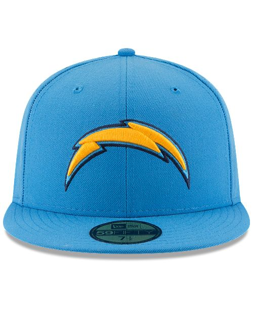 New Era San Diego Chargers Team Basic 59FIFTY Fitted Cap