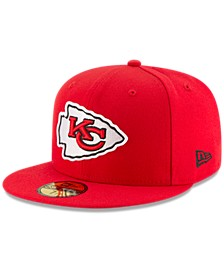 Kansas City Chiefs Team Basic 59FIFTY Fitted Cap