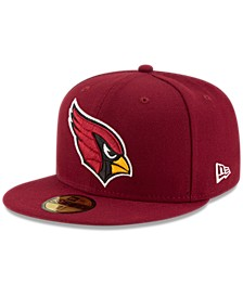 Arizona Cardinals Team Basic 59FIFTY Fitted Cap