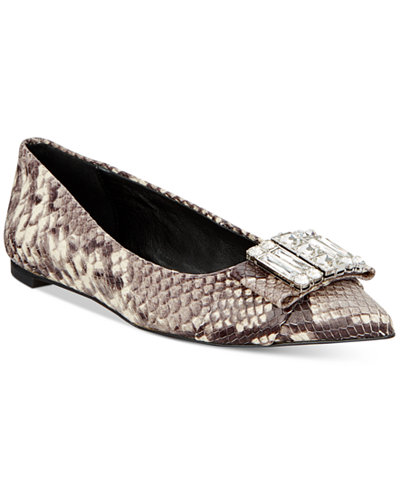 MICHAEL Michael Kors Michelle Pointed-Toe Flats