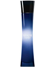 Armani Code for Women Eau de Parfum Spray, 1.7 oz.