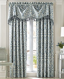 J. Queen New York Lucerne Window Panel and Valance Collection