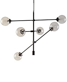 Cyrus Metal & Glass Chandelier
