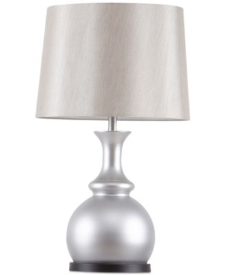 Madison Park Signature Morgan Pewter Table Lamp