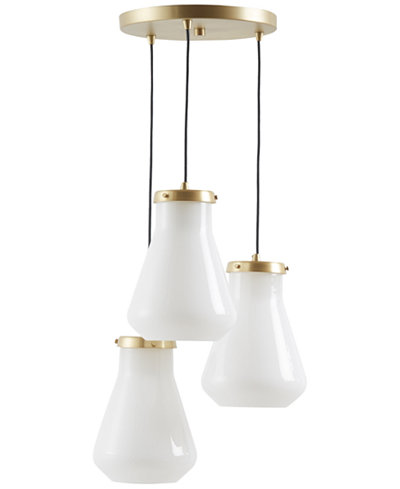 CLOSEOUT! INK+IVY Hede Antique Brass Pendants
