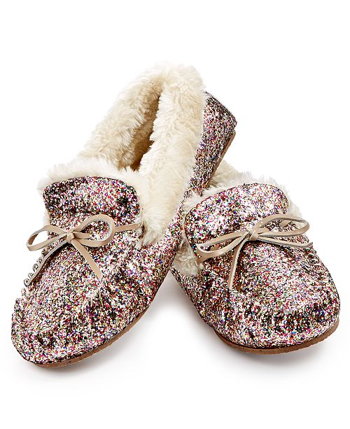 3a477e539ee4 INC International Concepts IRIS Gifts For I.N.C. Sequined Slippers ...