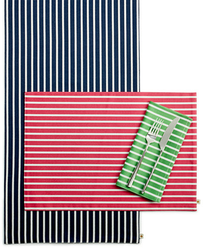 Kate Spade New York Harbour Drive Table Linens Collection Table - Kate spade table linens