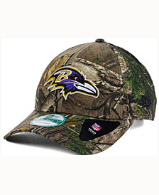 New Era Baltimore Ravens The League Realtree 9FORTY Cap