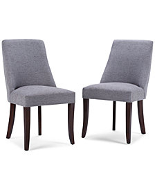 Elson Set of 2 Deluxe Dining Chairs, Quick Ship