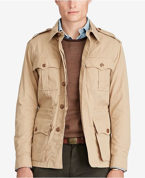 Polo Ralph Lauren Men S Safari Jacket Reviews Coats Jackets