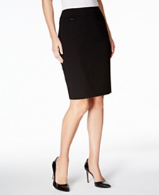 Calvin Klein Pencil Skirt, Regular & Petite
