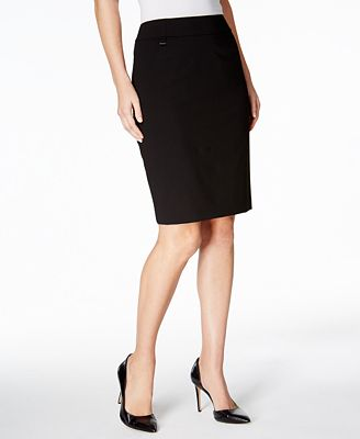 Calvin Klein Pencil Skirt - Wear to Work - Women - Macy's