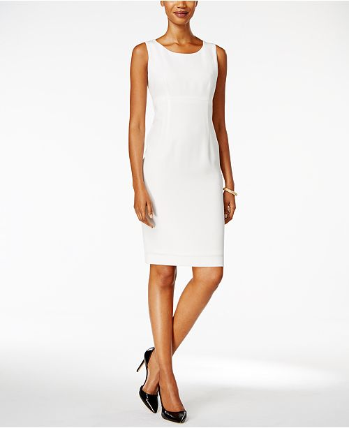 c63ab8285d1aa Kasper Sheath Dress   Reviews - Dresses - Women - Macy s