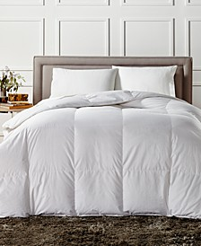 European White Down Medium Weight King Comforter, Created for Macy's