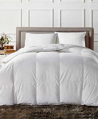 European White Down Medium Weight Full Queen Comforter Created For Macy S