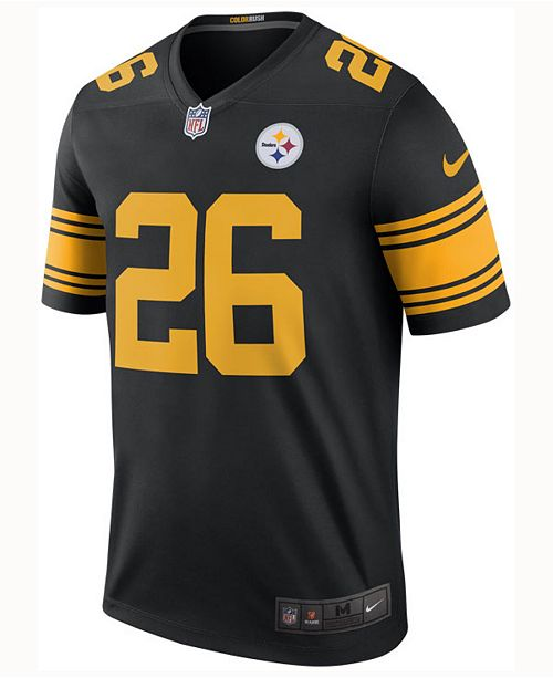 b08927411d1 Nike Men s Le Veon Bell Pittsburgh Steelers Legend Color Rush Jersey ...