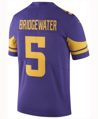 b24d3e0c8 Nike Men s Teddy Bridgewater Minnesota Vikings Limited Color Rush Jersey -  Sports Fan Shop By Lids - Men - Macy s