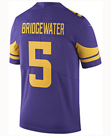 Nike Men's Teddy Bridgewater Minnesota Vikings Limited Color Rush Jersey