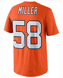 Nike Men's Von Miller Denver Broncos Color Rush Name & Number T-Shirt