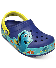 Crocs CrocsLights Finding Dory Clogs, Toddler Boys & Girls, Little Boys & Little Girls