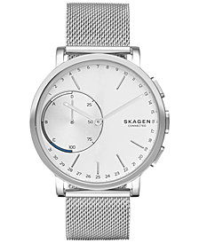 Skagen Connected Unisex Hagen Stainless Steel Hybrid Smart Watch 42mm SKT1100