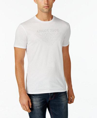Armani Jeans Men's Graphic-Print T-Shirt