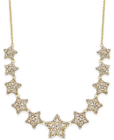 kate spade new york Crystal Star Necklace