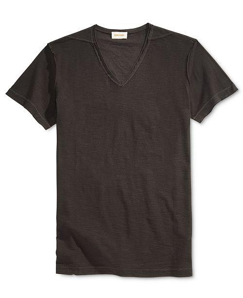 Diesel men 39 s tossik v neck t shirt t shirts men macy 39 s for Mens diesel v neck t shirts