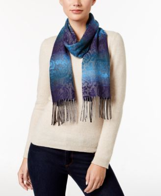 Image of Cejon Ombre Paisley Woven Scarf