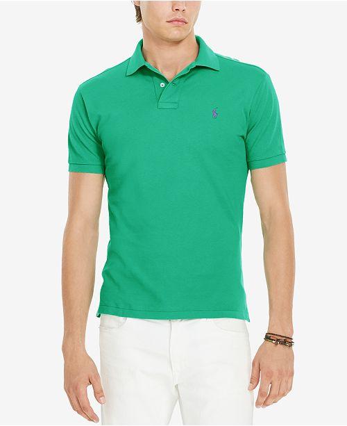 Polo Ralph Lauren Classic-Fit Cotton Mesh Polo Shirt