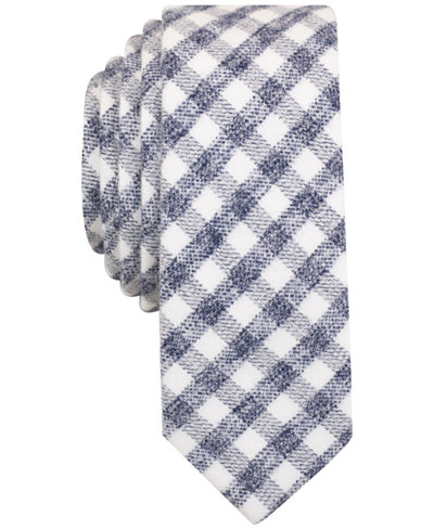 Original Penguin Men's Ron Check Slim Tie