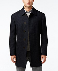 Jake Solid Wool-Blend Overcoat