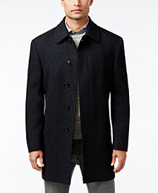 Lauren Ralph Lauren Jake Herringbone Wool-Blend Overcoat