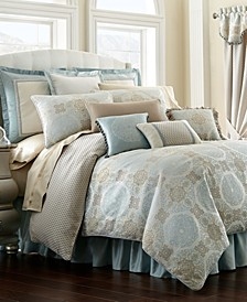 Reversible Home Jonet Queen 4-Pc. Comforter Set