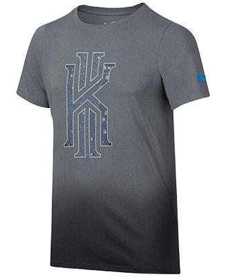 Nike Kyrie Irving Graphic Print T Shirt Big Boys 8 20
