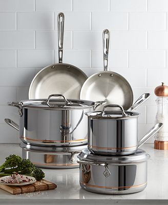 All Clad Copper Core 10 Pc Cookware Set Cookware