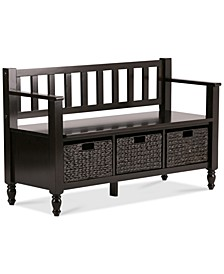 CLOSEOUT! Ardmore Entryway Storage Bench