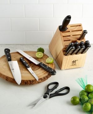 Zwilling J.a. Henckels Knife Block Set, Created for Macy's, 15 Piece Twin Gourmet