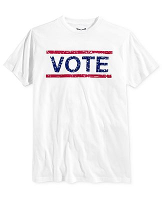 Univibe Men's Vote Graphic-Print T-Shirt