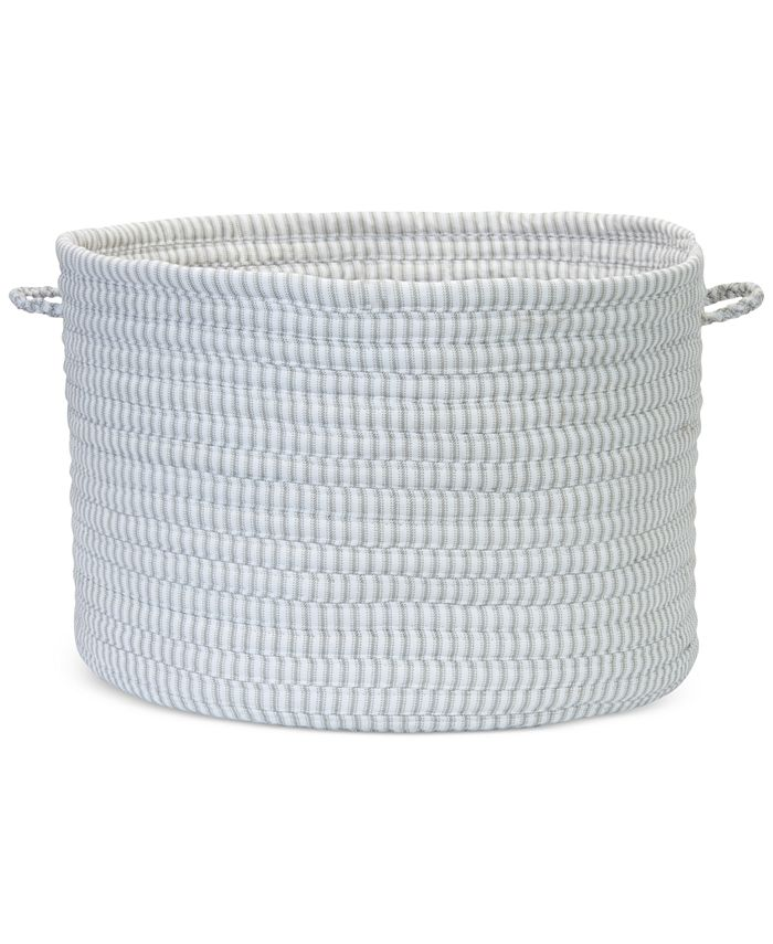Colonial Mills - Solid Ticking Fabric Basket