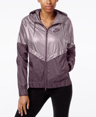 Nike jackets womens windrunner