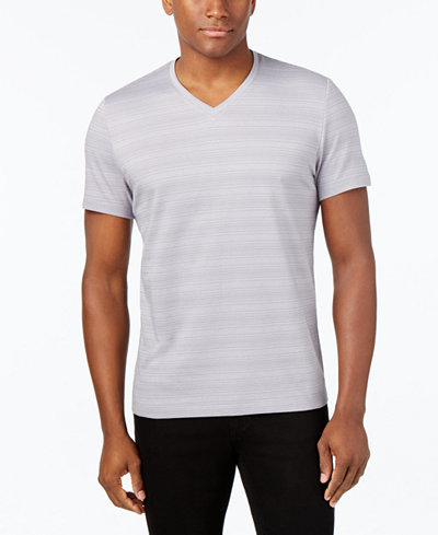 Alfani men 39 s big and tall slim fit t shirt only at macy 39 s for Slim and tall shirts