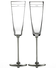 Set of 2 Darling Point Toasting Flutes