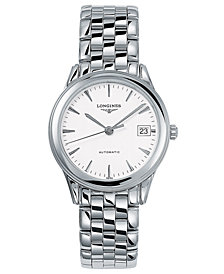 Longines Men's Flagship Automatic Stainless Steel Bracelet Watch L47744126