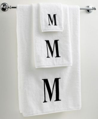 "Bath Towels, Black and White 27"" x 52"" Bath Towel"