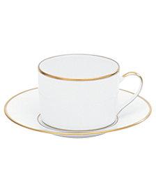 "Bernardaud ""Palmyre"" Tea Saucer"